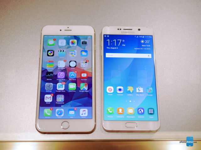 Samsung Galaxy Note 5 VS iPhone 6 Plus