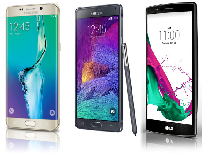 Samsung Galaxy S6 edge Plus vs Samsung Galaxy Note 4 vs LG G4