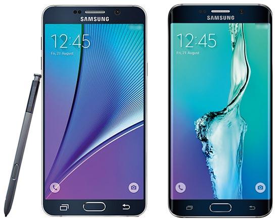 Immagini Samsung Galaxy Note 5