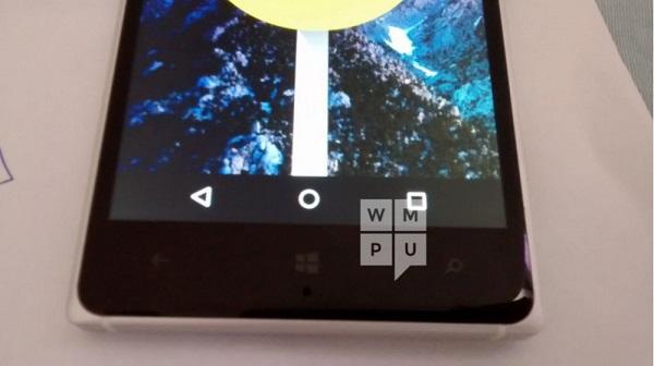 Android Lollipop Lumia 830