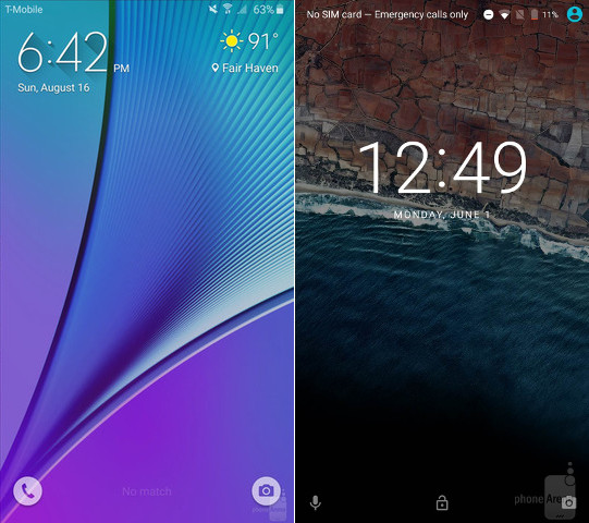 TouchWiz-left-Android-M-right