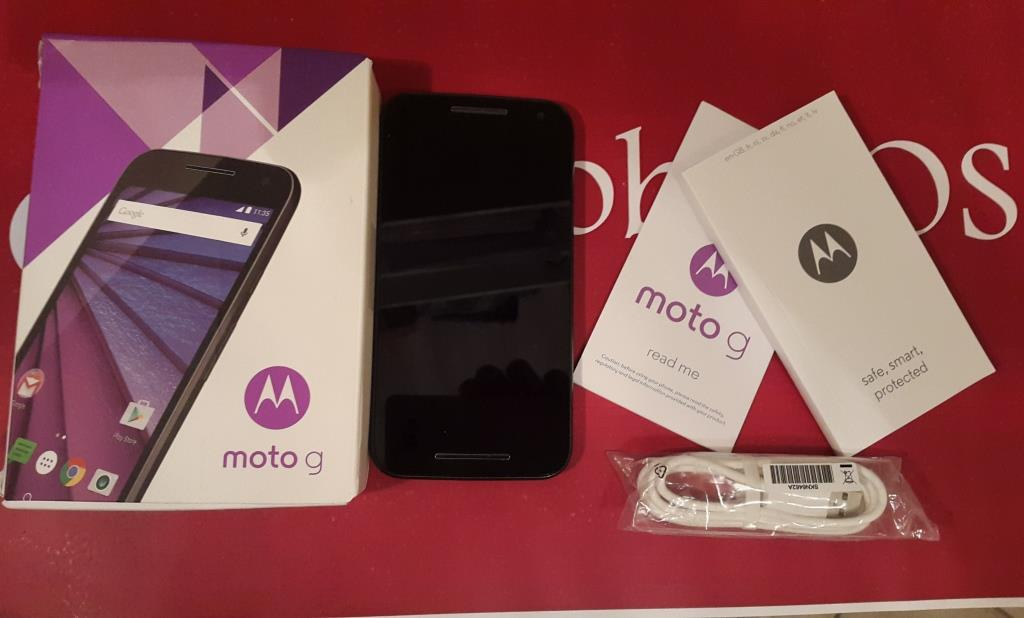 Video Unboxing Moto G 2015