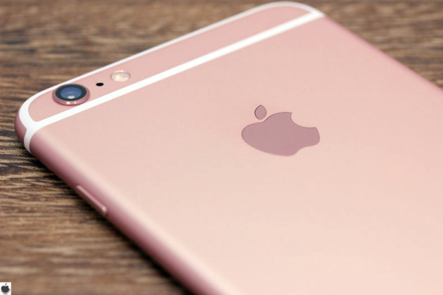 iphone s6 in oro rosa