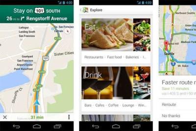 update per Google Maps