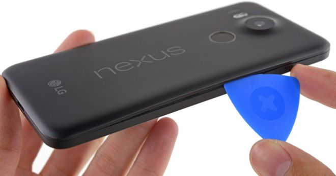 riparabilità nexus 5x