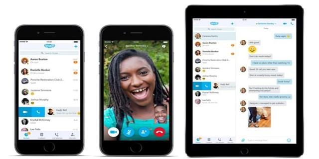 Aggiornamento Skype iOS 9