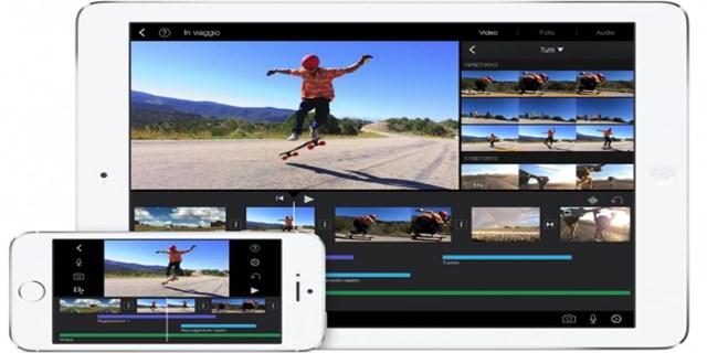 aggiornamento iMovie per iOS e Mac