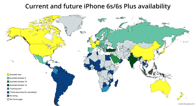 Current-and-future-iPhone-6s-availability
