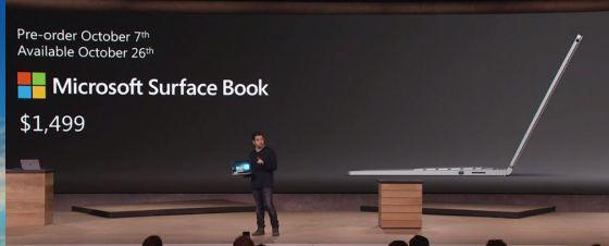 Microsof Surface Book