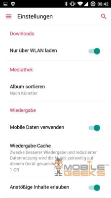 immagini Apple Music Android