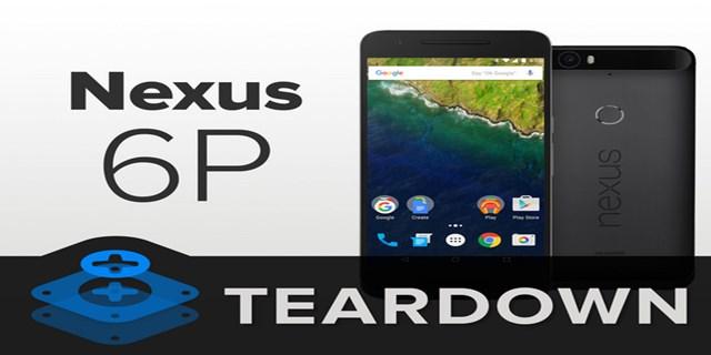 iFixit teardown Nexus 6P