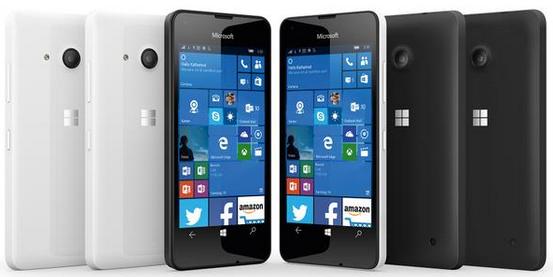 immagini Lumia 550