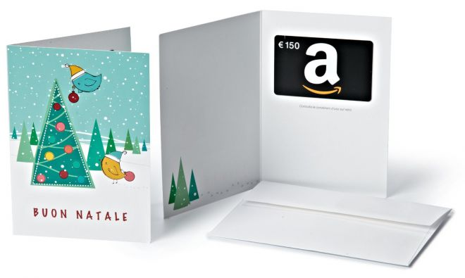 Regali di Natale Amazon Con un buono da 10€ si fanno meglio!