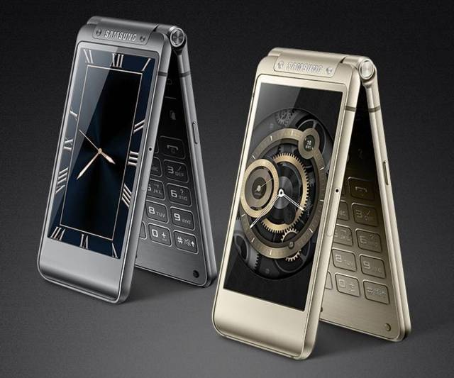 Samsung-W2016-clamshell-Android Samsung W2016