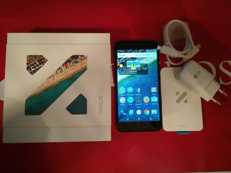 Unboxing Nexus 5x LG Google Android M IMG_20151113_213720