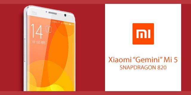 Il nuovo Xiaomi Mi 5