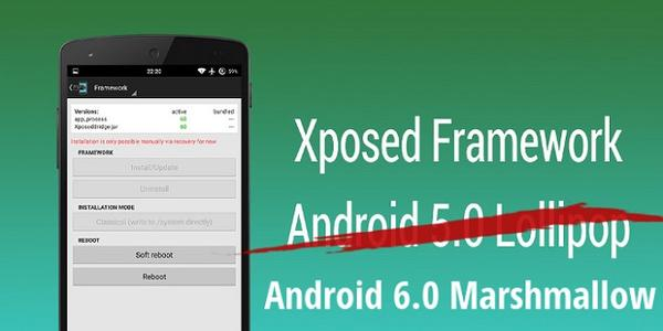Xposed Framework Android 6.0