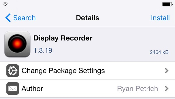 iOs9 Display Recorder