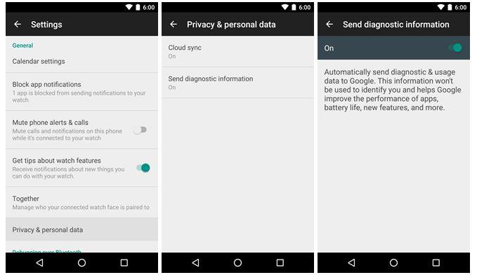 invio messaggi Whatsapp Android Wear