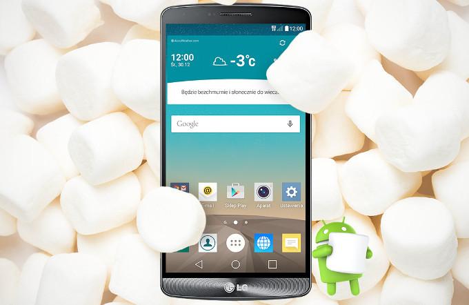 Aggiornamento Android Marshmallow LG G3