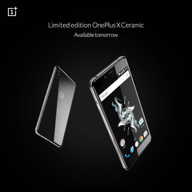 OnePlus X Limited Ceramic Edition