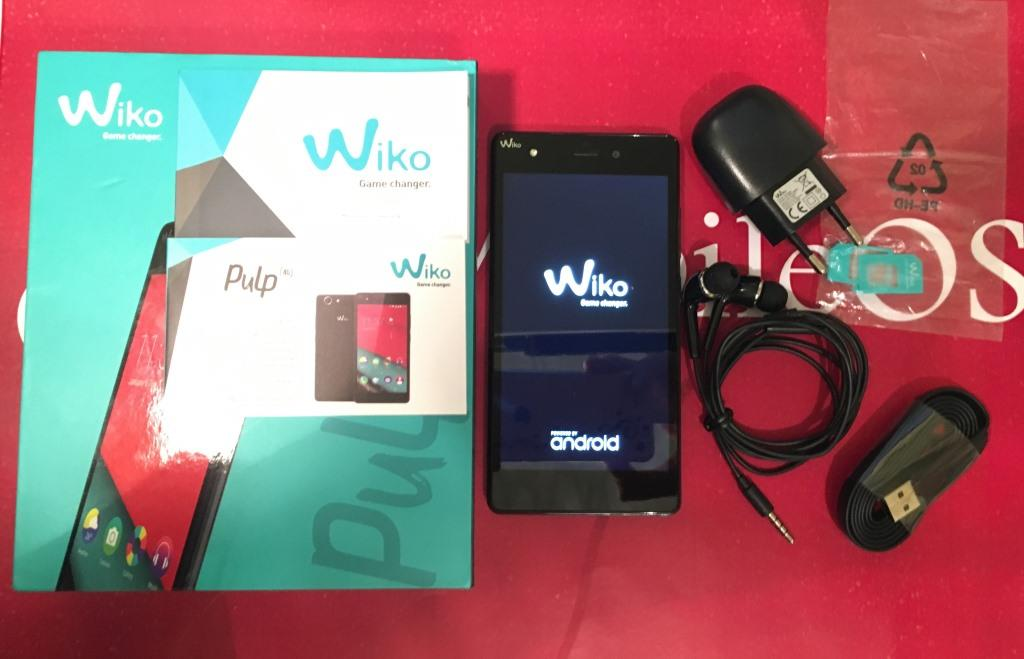 Video Unboxing Wiko Pulp 4G