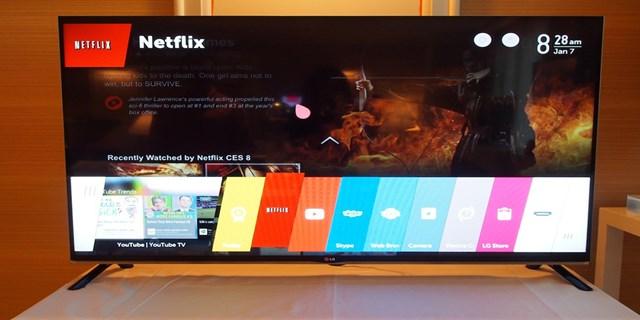 Aggiornamento Smart TV LG