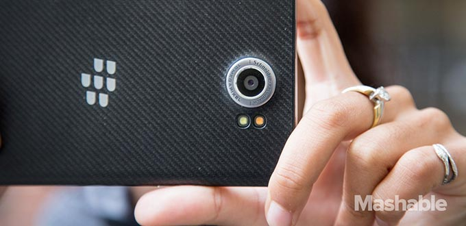 Aggiornamento BlackBerry Camera