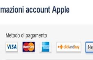 Creare account Apple senza carta di credito