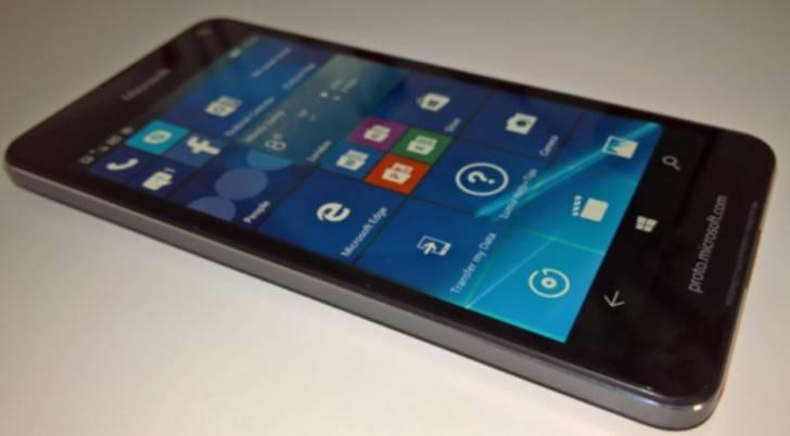 Uscita Lumia 650