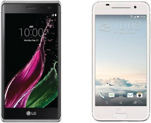 HTC One A9 VS LG Zero