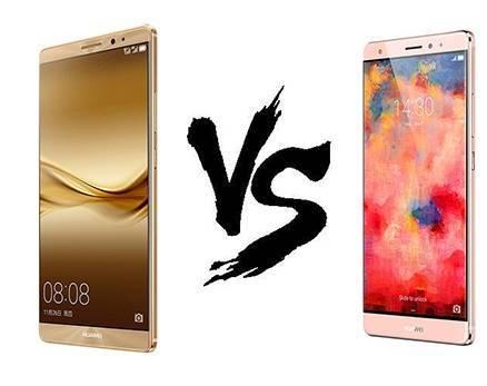 Huawei Mate 8 VS Mate S