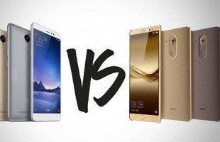 Mate 8 VS Xiaomi Redmi Note 3