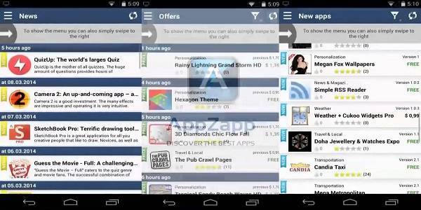 Trovare applicazioni scontate su Android
