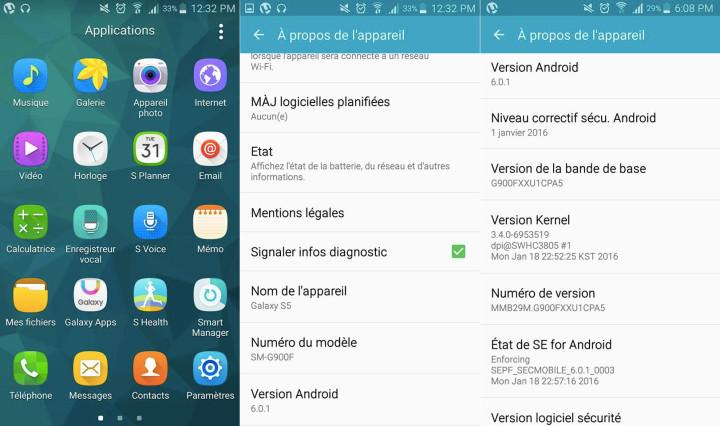 Aggiornamento Samsung Galaxy S5 Android Marshmallow