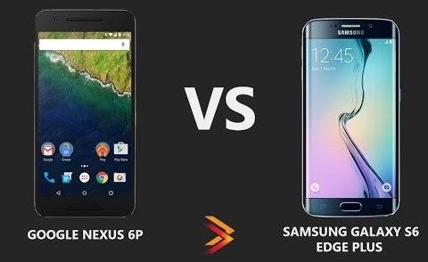 nexus 6p vs Galaxy S6 Edge Plus