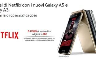 Promozione Samsung Galaxy A3 e A5
