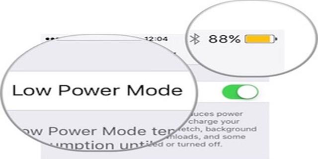 attivare Low Power Mode iPhone