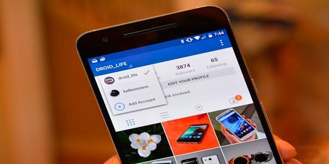 Multi-account Instagram