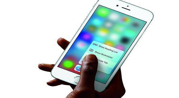 Regolare sensibilità 3D Touch iPhone 6S