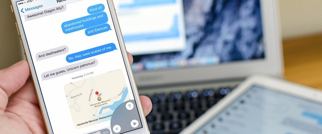 Scorciatoie iMessage iPhone