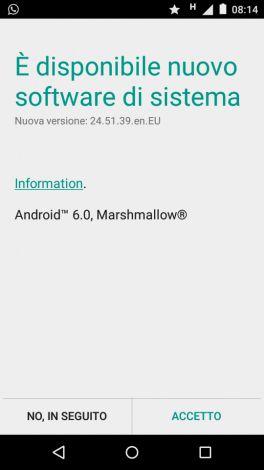 Android 6 Moto E