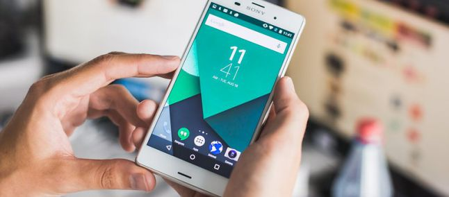 Android 6 Xperia Z3 Compact