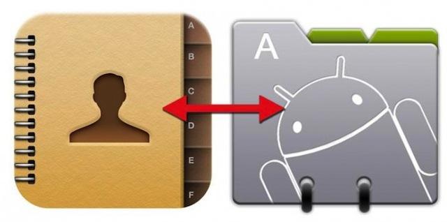Creare Copia di Sicurezza Contatti Android