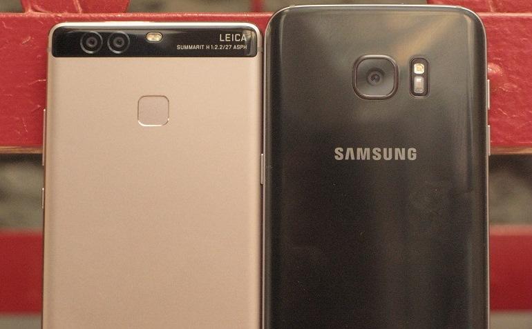 Galaxy S7 VS Huawei P9