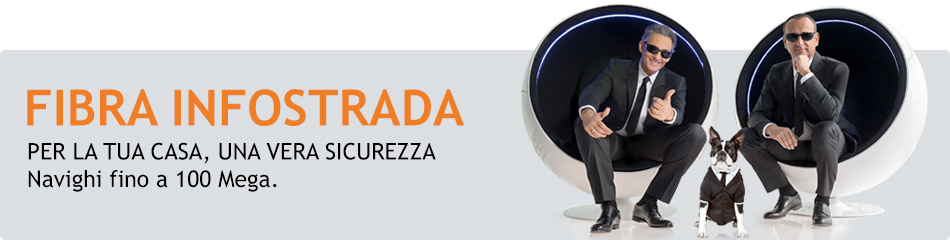 Offerta Fibra Wind Absolute Fibra di Infostrada con Internet e Chiamate Illimitate a 19€