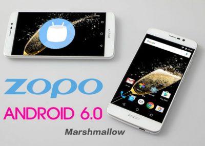 Aggiornamento Marshmallow Zopo Speed 7
