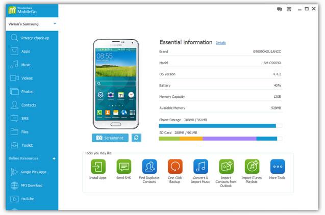 Copiare Contatti Rubrica Android