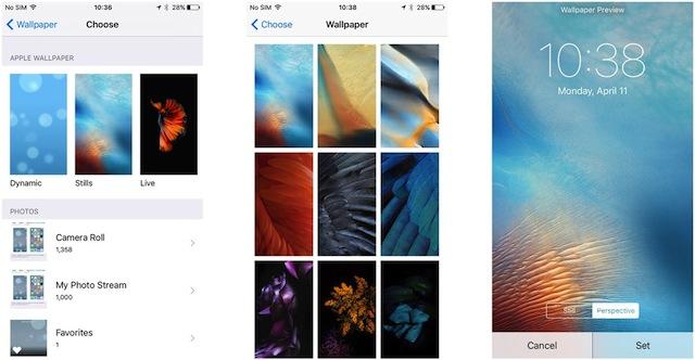 Modificare Sfondo iPhone