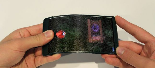 smartphone flessibile holoflex